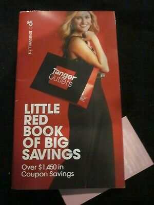 Tanger Outlets Sevierville Tn Little Red Book Of Savings Over $1,450 In Coupons
