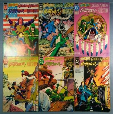 Brave and the Bold #1 #2 #3 #4 #5 #6 Green Arrow Question Butcher Complete Serie
