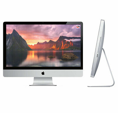 """Apple iMac 27"""" Core i7 Quad-Core 3.4GHz 16GB 2TB HDD All-In-One Computer"""