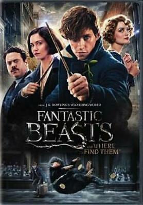 FANTASTIC BEASTS & WHERE TO FIND THEM (Region 1 DVD,US Import,sealed)