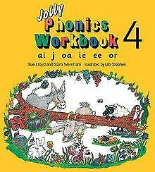 Jolly Phonics Workbook: ai, j, oa, ie, ee, or b... | Book | condition acceptable