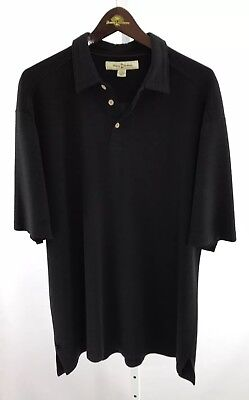 """NWT Black Tommy Bahama /""""CHALK and ROLL/"""" Size 2XL Reg Price $49.50"""
