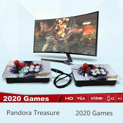 Separable 2020 in 1 3D Pandora Box Retro Video Games Double Arcade Console