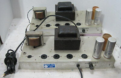 Pair of 7591 Mono Bloc Amplifiers For Project or Repair