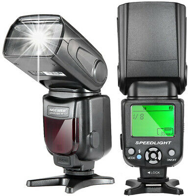 Neewer NW-561 LCD Display Speedlite Flash for Canon and Nikon DSLR Cameras,Such