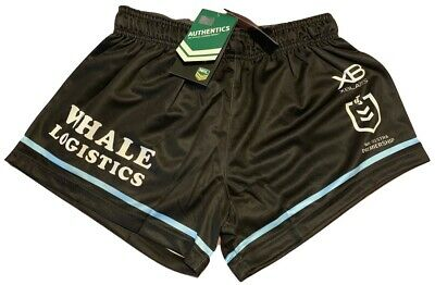 Cronulla Sharks 2019 Home Shorts Sizes S - 5XL XBlades NRL In Stock Now!!