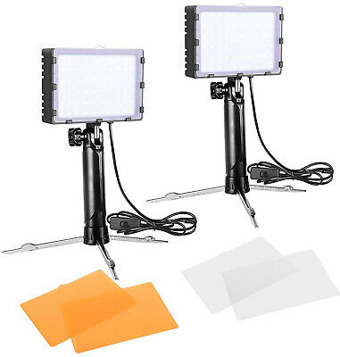 Emart 60 LED Continuous Portable Photography Lighting Kit for Table Top Photo -