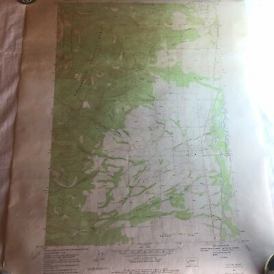 Map Geological Survey Victor Quadrangle Mountain N422.5 - W11407.5 / 7.5 1967