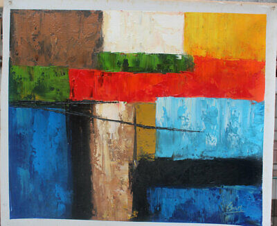 Free shipping Hand painted Abstract Oil Painting on Canvas Modern Wall Art Decor