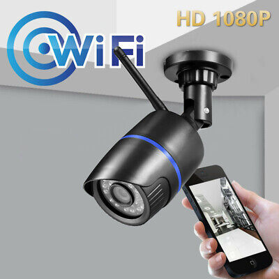HD1080P WIFI Security Wireless Indoor/Outdoor Camera IR built-in TF card slot
