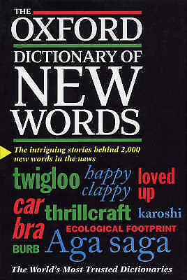 The Oxford Dictionary of New Words,    Used Book, Fast Delivery