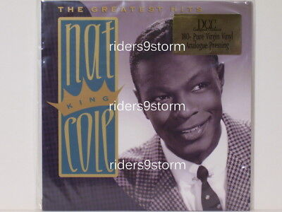 Nat King Cole Greatest Hits DCC Audiophile 2 LP # 0060 Sealed