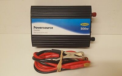 Ring Powersource Inverter 500w 12v With USB