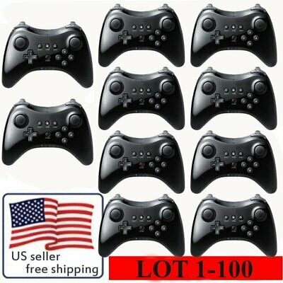 LOT 1-100 Bluetooth Wireless Game Controller Gamepad for Nintendo Wii U Pro TO