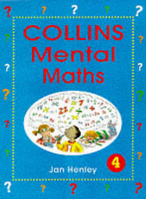 Collins Mental Maths – Pupil Book 4: Level 4, Henley, Jan | Used Book, Fast Deli