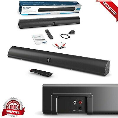 Soundbar With Built-In Subwoofer Surround Sound, LARGE Bluetooth Music