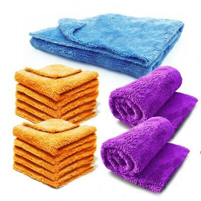 Edgeless Microfibre Towel Cloth Car Microfiber Polishing Drying Pure Definition