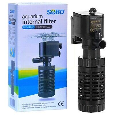 75L Tank Internal Aquarium Filter Water Pump Spray Air Fish Tank Filtration