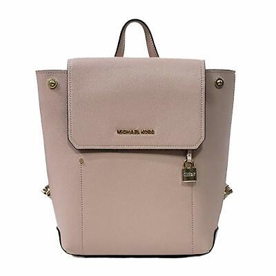 7a62bd4ca45a NWT MICHAEL KORS Hayes Medium Backpack Leather Persm/Dkkhaki ...