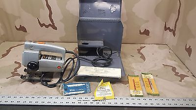Skil Jigsaw w/ Case and Blades + Extras Vintage