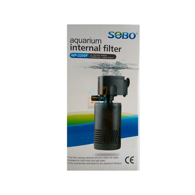 120L Tank Internal Aquarium Filter Water Pump Spray Air Fish Tank Filtration