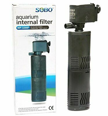 200L Tank Internal Aquarium Filter Water Pump Spray Air Fish Tank Filtration