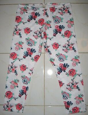 Self Esteem -   Girl's Size Xl - Stretch Knit -  Floral  Leggings