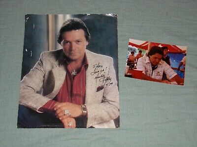 Autographs-original Mickey Gilley-signed Photo-certified 27a Country