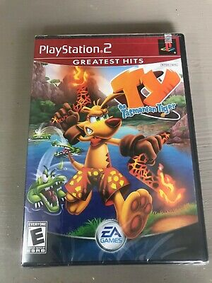 Brand New Ty the Tasmanian Tiger Playstation 2 PS2  GH Greatest Hits - Free S&H