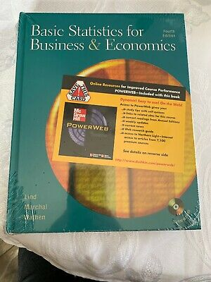BASIC STATISTICS FOR BUSINESS AND ECONOMICS W/STUDENT CD AND By William G