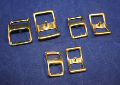 Conway Buckles - Assortment - Solid Brass - 16 pieces (F143)