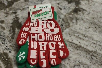Holiday Mittens.  2 Pair