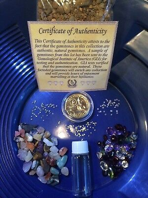 100% Diamond Alaska Gold Paydirt  Unsearched and Guaranteed 25+Added GOLD 1/2 lb