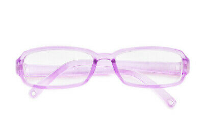 Purple Doll Glasses Fits 18 Inch American Girl Doll Clothes