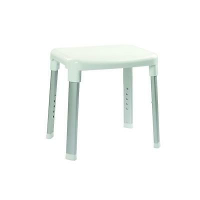 Croydex Large Adjustable Shower Seat in White AP130522YW