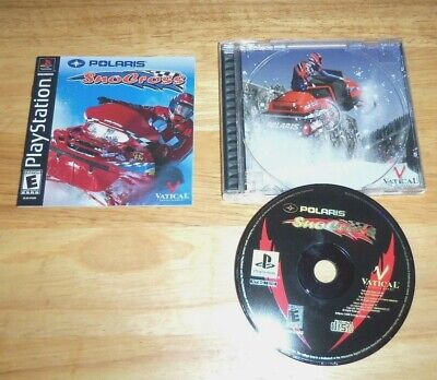 Polaris SnoCross  (Sony PlayStation 1, 2000) PS1  Complete