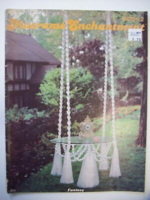 Macrame Enchantment book 2 Pattern hanging tables fountain planters