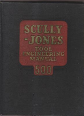 1947 Catalog - Scully-Jones Tool Engineering Manual 500 - Chicago Il