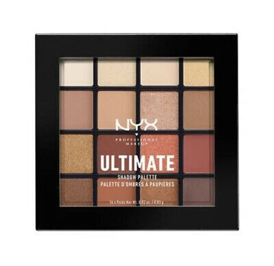 ❤️NYX Cosmetics Ultimate Eyeshadow Palette - Warm Neutrals❤️ UK Seller Makeup ❤️