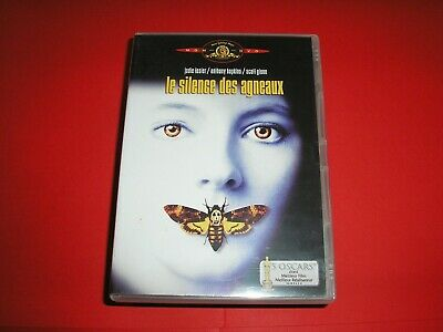"DVD,""LE SILENCE DES AGNEAUX"",jodie foster,anthony hopkins,scott glenn,(421)"