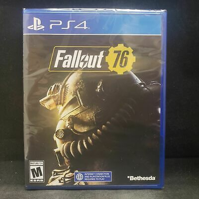 Fallout 76 Bethesda Playstation 4 PS4 Brand New Sealed Free Shipping!!!