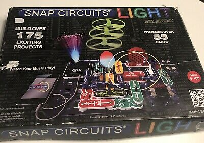 snap circuits lights eur 101,90 picclick frsnap circuits scl 175 lights electronics exploration kit (over 175 projects)
