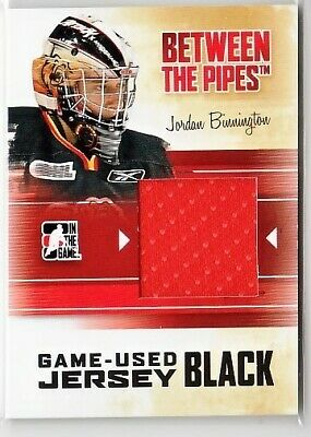 Jordan Binnington 10-11 Itg Btp Between The Pipes Game-Used Jersey Black /120