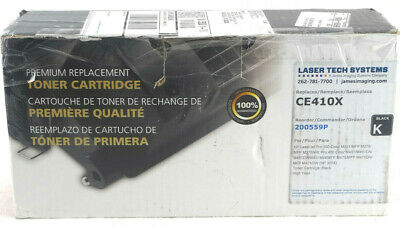 Compatible 305X / CE410X Black Toner Cartridge for HP *OPEN BOX* Free Shipping