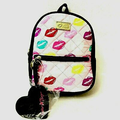 51c7207c12 New Luv Betsey Mini Backpack Pink LB Sadie kiss Pink/Black by Betsey Johnson