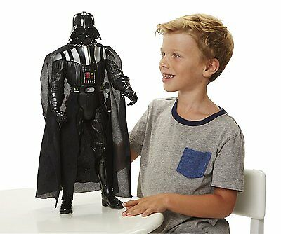 """1st Star Wars Big Figs Deluxe 20"""" Darth Vader Action Figure without Lightsaber"""