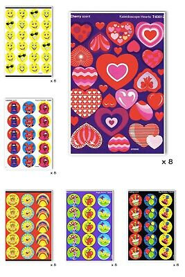 Scratch and Sniff Stickers - Scratch n Sniff - 8 SHEETS - Teachers - Bulk Saving