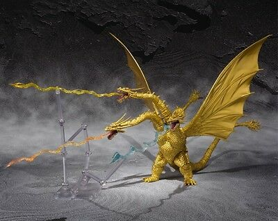 Bandai S.H.MonsterArts Godzilla King Ghidorah Special Color ver. Figure ^^