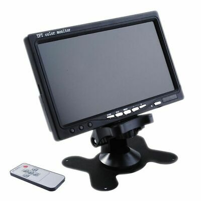 "7"" TFT LCD Color HD Mirror Monitor for Car Reverse Rear View Backup Camera / DVD"