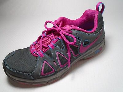 3b87b476d75 Nike Alvord 10 Women s Trail Running Shoes Size 8.5 Sneakers Gray Pink